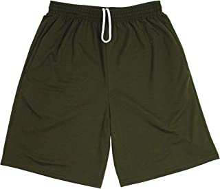 product image for LA Speedy Mens Lightweight Terry Pocket Sweat Shorts with Drawstring Made in USA