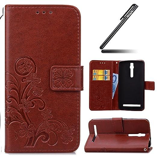 10 opinioni per Asus Zenfone 2 ZE551ML(5.5) Custodia, Ukayfe Custodia portafoglio / wallet /