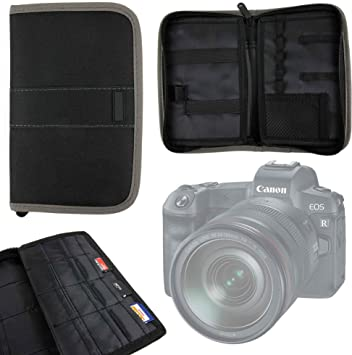 DURAGADGET Funda/Estuche para Tarjetas de Memoria SD para Cámara Canon EOS R: Amazon.es: Electrónica