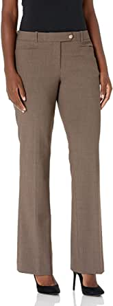 Calvin Klein Women's Modern Fit Lux Pant with Belt