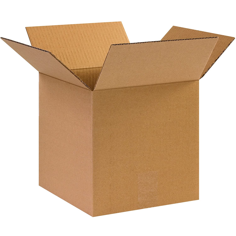 10L x 10W x 10H BOX USA BHD101010DW Double Wall Boxes Kraft Pack of 15
