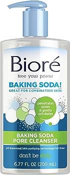 Biore Baking Soda 6.77-Oz. Pore Cleanser for Combination Skin