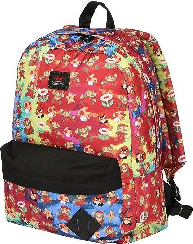 e0a86f2eee Vans Old Skool Nintendo Super Mario Unisex School Bag Backpack   Amazon.co.uk  Shoes   Bags