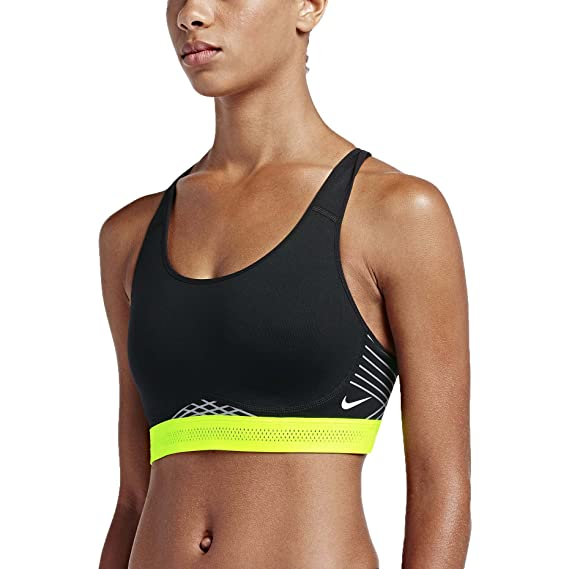 Nike Pro Fierce Reflective Sujetador Deportivo, Mujer: Amazon.es ...