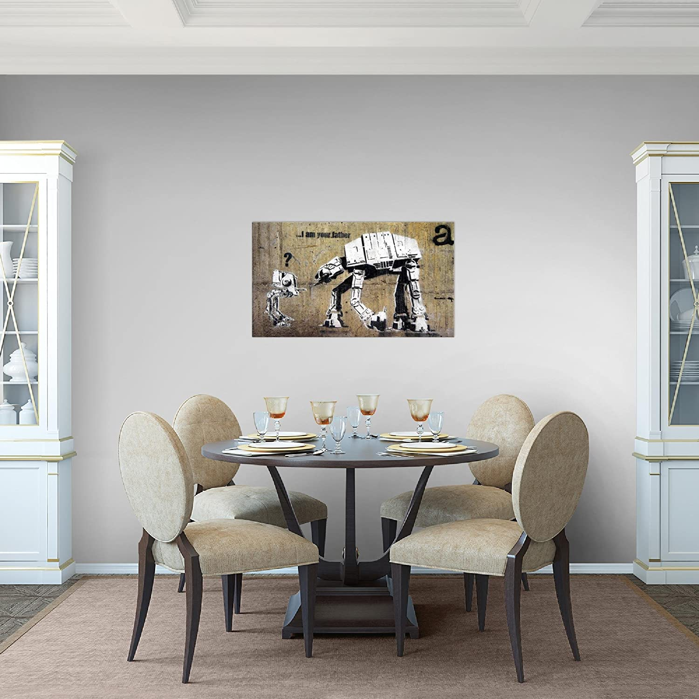 Bild Banksy MADE IN GERMANY Leinwand Bilder XXL Format ...