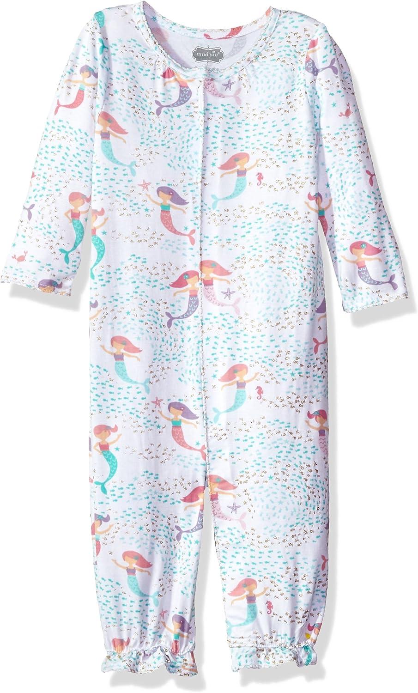 Mud Pie Baby Girls Unicorn Convertible Sleepgown