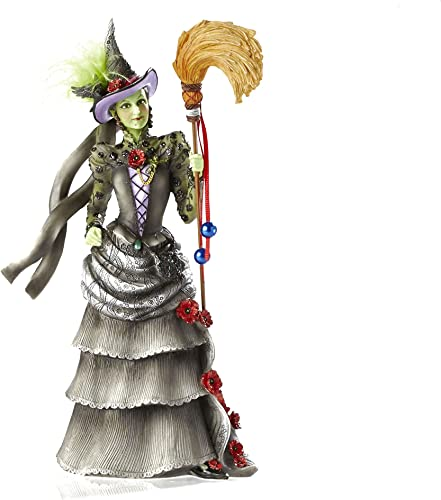 Enesco Warner Bros. Couture De Force Gift Wicked Witch of The West Figurine, 8.5-Inch