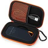 Fromsky Hard Case for SanDisk Extreme Pro Portable External SSD, Travel Case Protective Cover Storage Bag (Black)