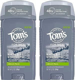 product image for Tom's of Maine Men's Natural Strength Deodorant, Cedar Peak 5.4 Ounce