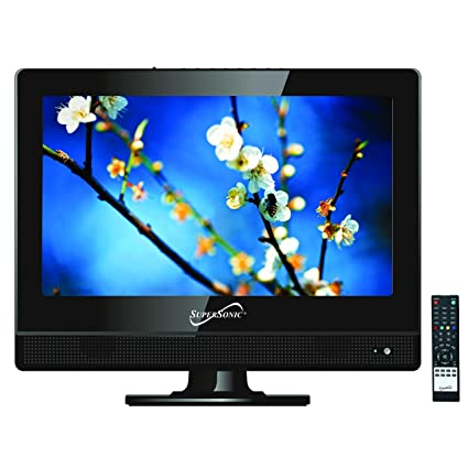 9b41e08920e19 Amazon.com  SuperSonic 13.3-Inch 1080p LED Widescreen HDTV HDMI AC DC  Compatible  SUPERSONIC  Electronics
