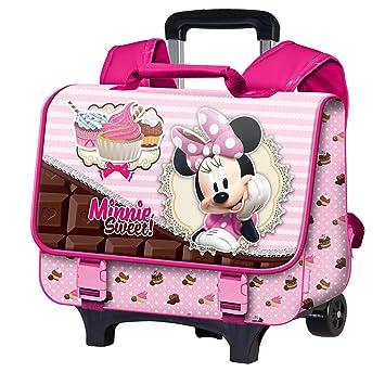 site réputé bed40 ce92a Minnie - 60656 - Cartable Trolley roulettes