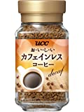 UCC おいしいカフェインレスコーヒー インスタントコーヒー 45g ノンカフェイン