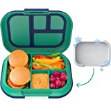 Bentgo Kids Chill Lunch Box - Bento-Style Lunch Solution with 4 Compartments and Removable Ice Pack for Meals and Snacks…