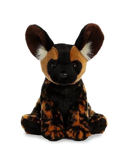 Amazon Com Aurora World African Wild Dog Plush Brown Medium Toys