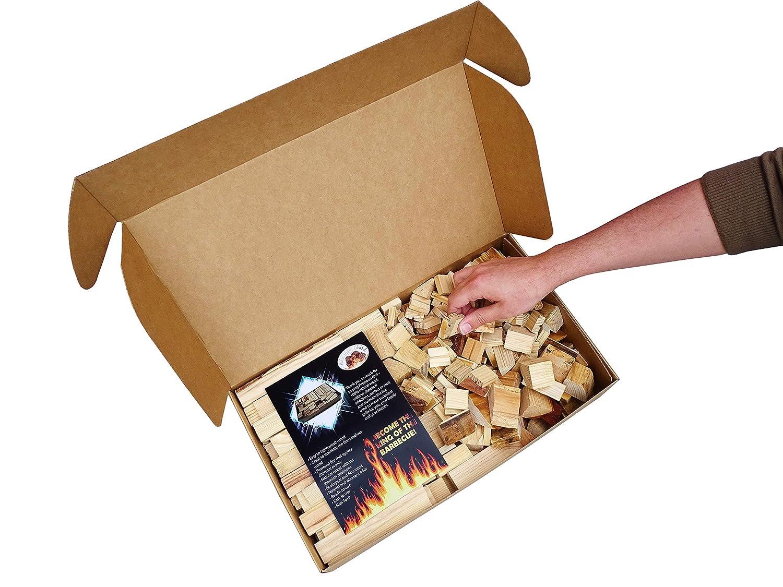 Ideales para iniciar su Barbacoa y Mantener el Fuego para depositar el carb/ón 4KG Sencillo Firewood Grill Piezas de Madera 100/% Natural F/ácil utilizaci/ón Listo para Usar para BBQ