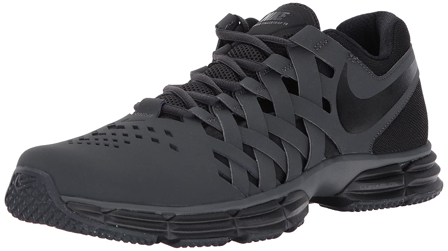 NIKE Men's Lunar Fingertrap Cross Trainer B01N7KMVBD 11.5 D(M) US|Anthracite/Black