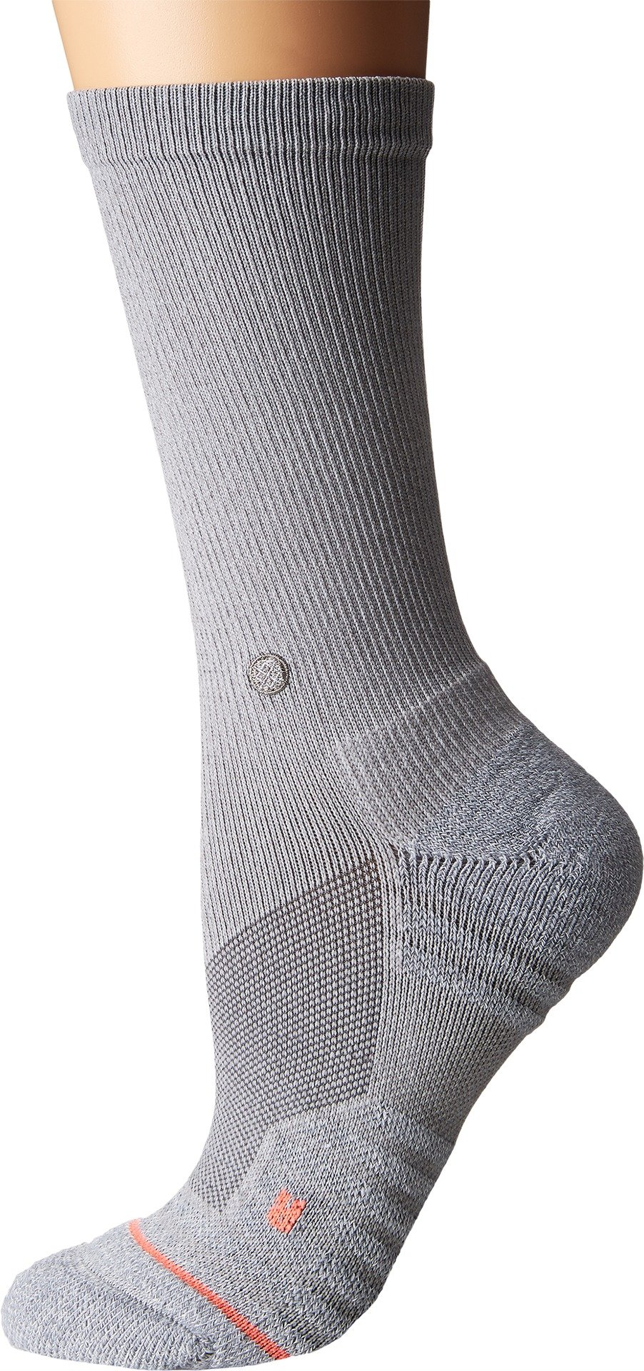 Stance Women's Icon Crew Socks,Small,Grey