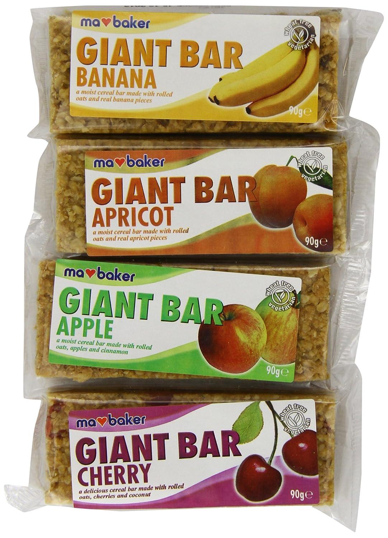 Ma Baker Giant Mixed Fruit Bars 90 g (Pack of 20) 86236