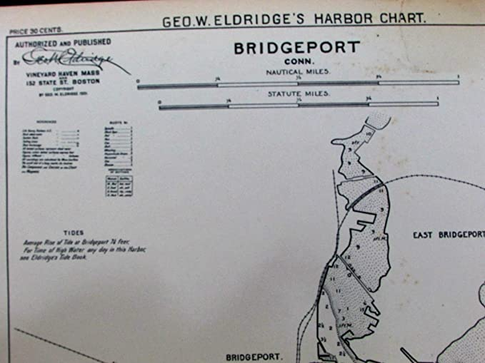 Amazon Bridgeport Connecticut Long Island Sound 1901 Old