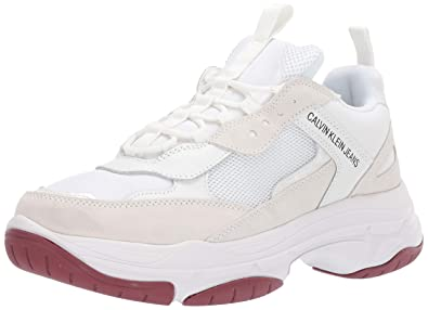 Calvin Klein Jeans Hommes Blanc Marvin Chunky Basket: Amazon