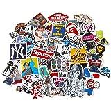 StickerFactory, confezione da 150 pezzi) per set di adesivi in vinile, diversi stili assortiti per Skateboard e Snowboard, da bicicletta, trolley da auto Bumper Stickers Pack, Vintage, Pop Art, Set di adesivi, motivo: Graffiti