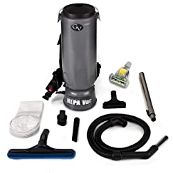 GV 10 Quart Commercial BackPack Vacuum