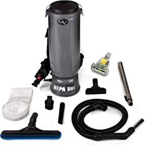 best rated backpack vacuum