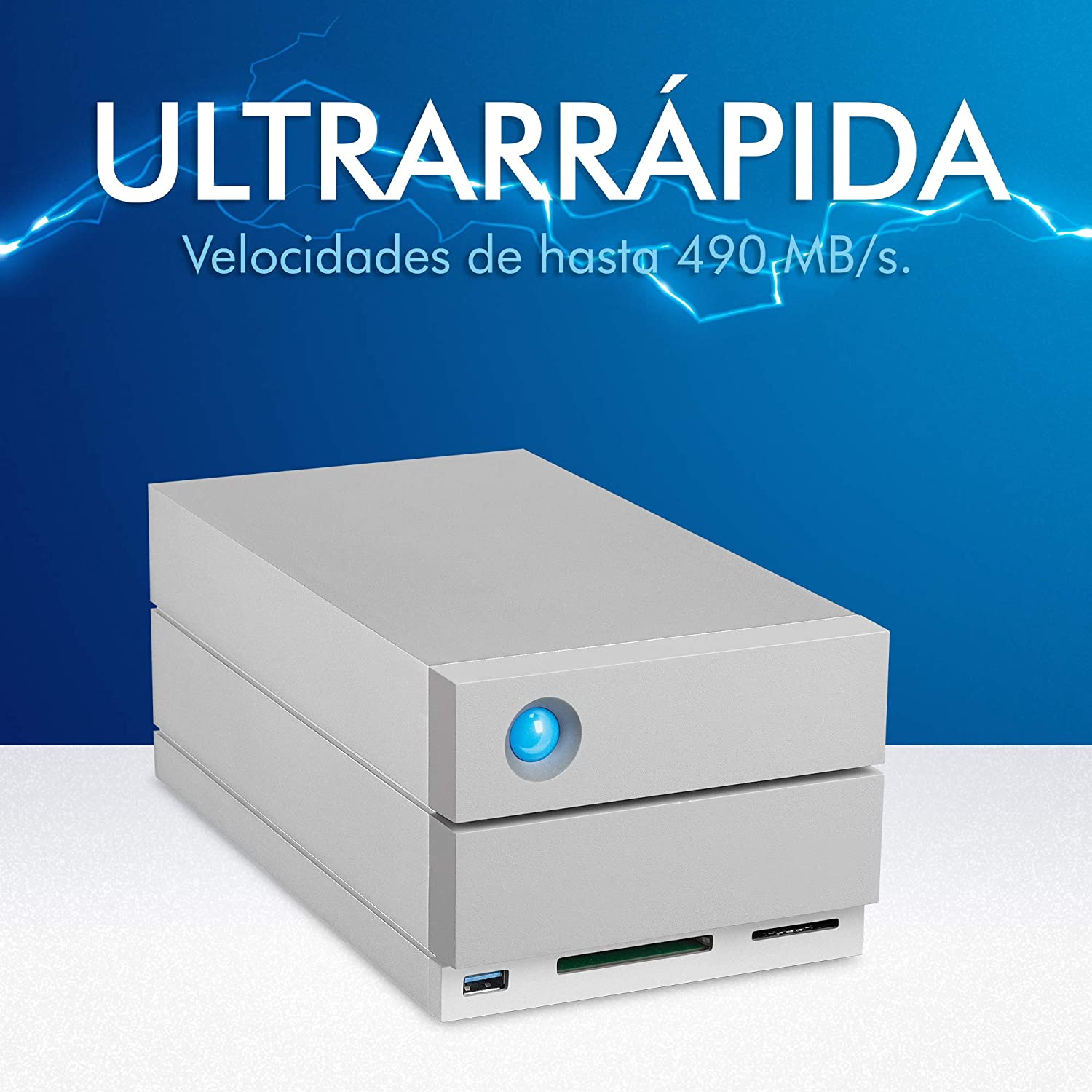 LaCie 2big Dock Thunderbolt 3, 20 TB, Doble Disco Profesional Raid ...