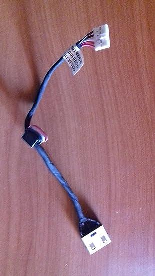 LENOVO G50-30, G50-40, G50-45, G50-70, G50-80 DC Power Jack, Conector de Alimentación, Enchufe, Conector de puerto con el cable