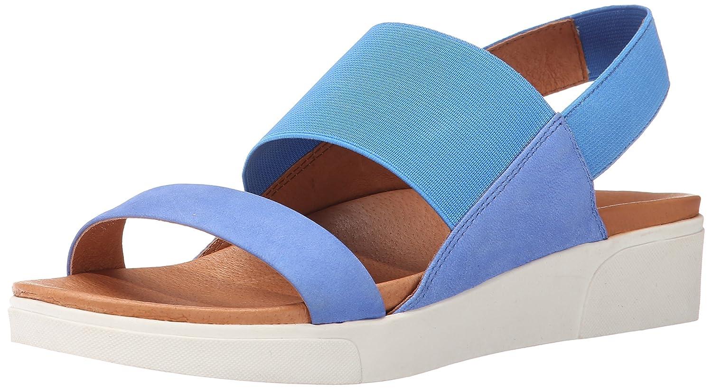 Gentle Souls by Kenneth Cole Women's Lansbury Platform Sandal B00QUZ70GG 9 B(M) US|Bright Blue