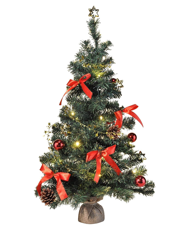 Amazon.de: Bambelaa! Künstlicher Weihnachtsbaum Christbaum 75cm ...