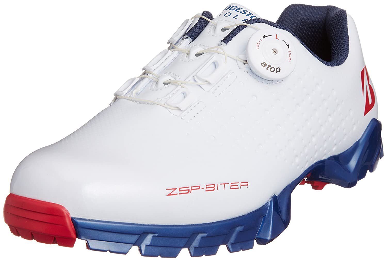 [ブリヂストンゴルフ] BRIDGESTONEGOLF ゴルフシューズゼロスパイクバイター B00WSRWB46 27.5 cm TR(トリコロール)