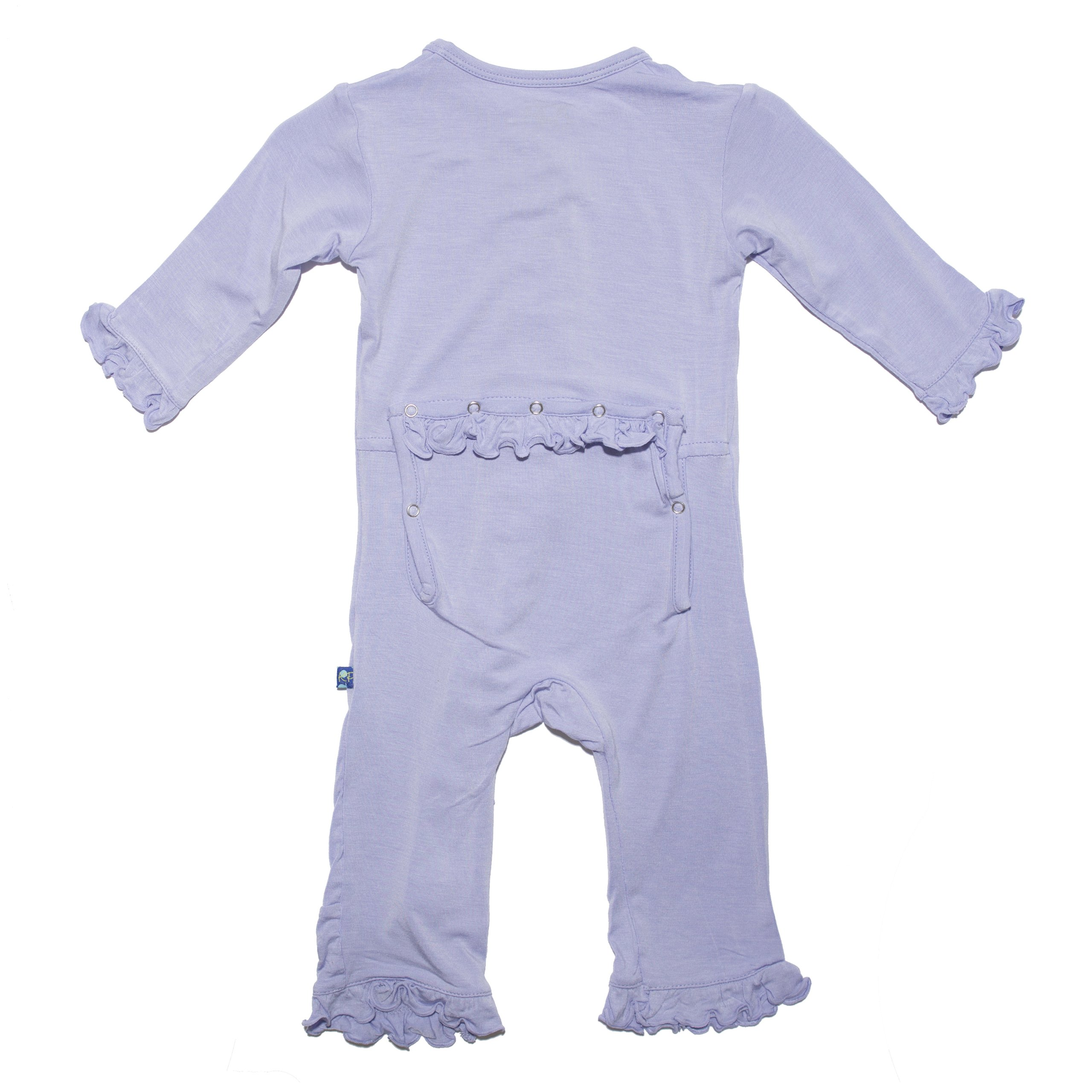 KicKee Pants Baby-Girls Solid Ruffle