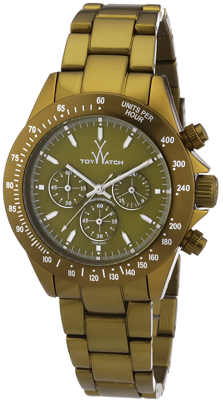 ToyWatch Unisex-Armbanduhr Chronograph Aluminium ME14OL