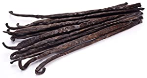 25 Vanilla Beans - Whole Extract Grade B Pods for Baking, Homemade Extract, Brewing, Coffee, Cooking - (Tahitian)