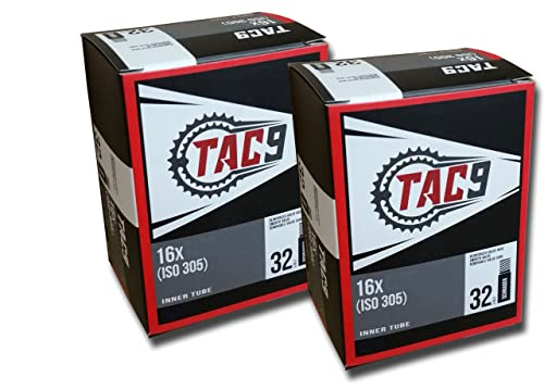 Bike Tubes - Select Your Size - 16 X 1.50, 16 X 1.75, 16 X 1.95, 16 X 2.125
