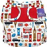 Bambino Mio Miosoft - Cobertor de pañal, diseño Gran Bretaña, talla 2, 9