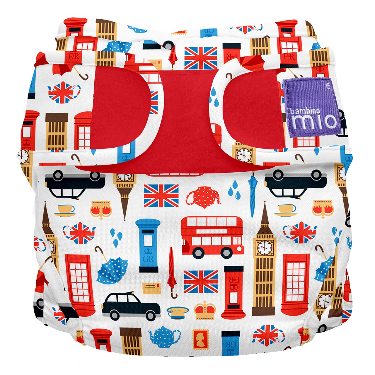 Bambino Mio, miosoft cloth diaper cover, sweet dreams, size 2 (9kgs+) MS2 SWE