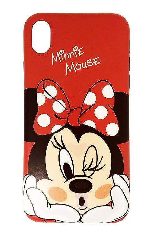 Minnie Rosso Custodia Per Iphone Xr Personaggi Disney Dei Cartoni