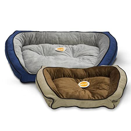 Amazon.com: K & H productos para mascotas cojín sofá felpa ...