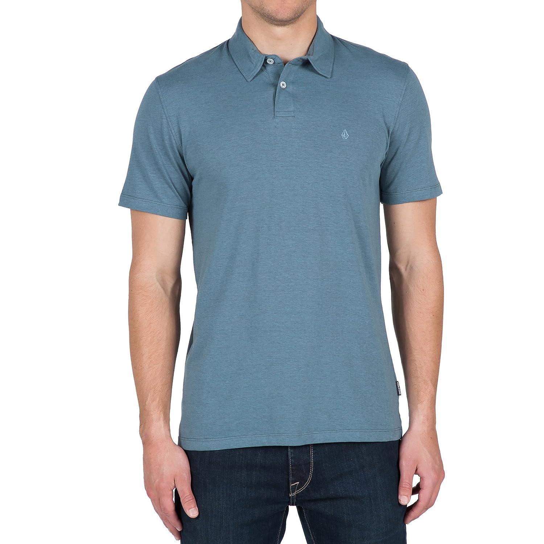 Volcom Mens Wowzer Polo Shirt, Blue Fog, Small: Amazon.es: Ropa y ...