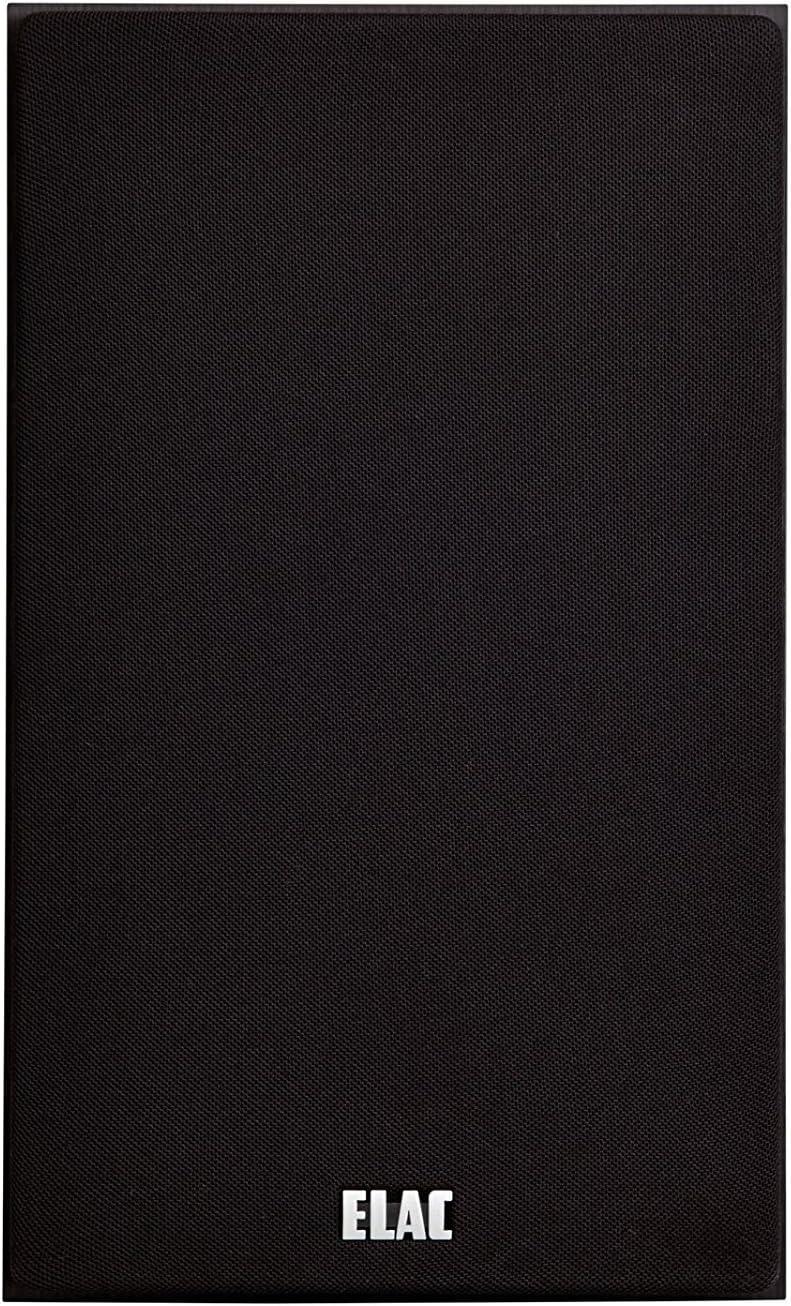 40//60W Black Decor ELAC Debut B4 Shelf Speakers Pair