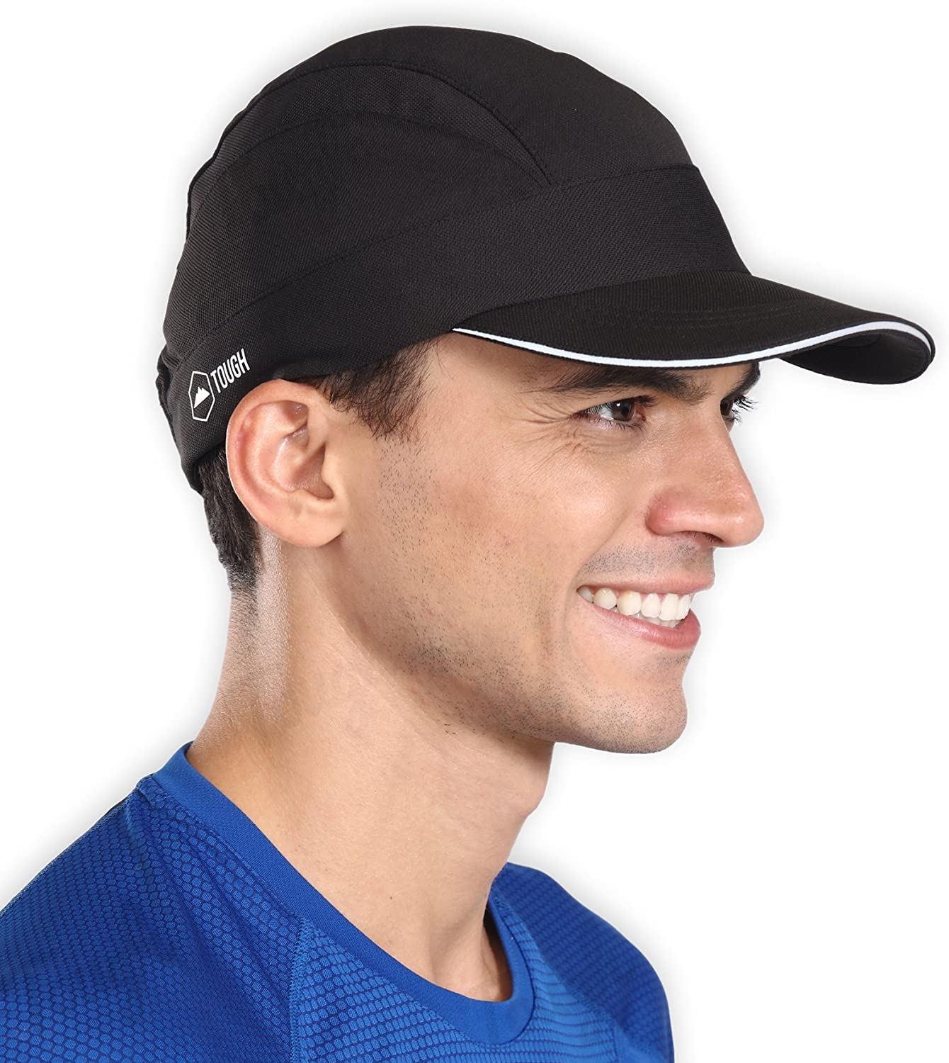 Running Hat - UV Protection Reflective Sports Sun Cap for Men & Women - Adjustable, Cooling, Breathable & Quick Dry