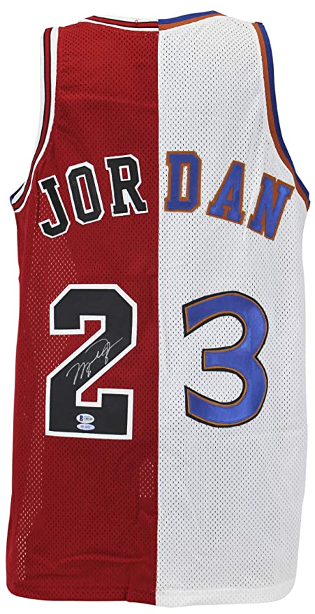 best website 6b172 16c57 Amazon.com: Bulls & Wizards Michael Jordan Authentic Signed ...