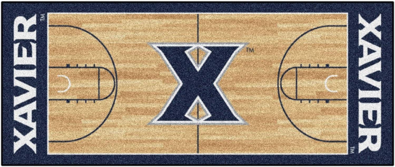 Fan Mats Xavier University Basketball Court Runner