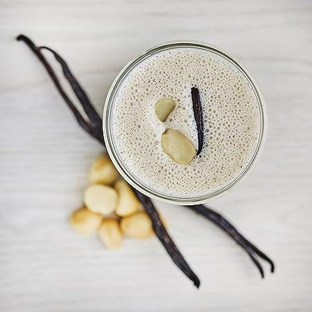 Purition Batido de proteínas de Nueces de Macadamia & Vainilla (500g). Batido para el desayuno: Amazon.es: Salud y cuidado personal
