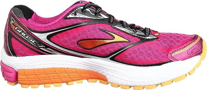 Brooks Ghost 7 - Zapatillas de Running para Mujer, Color Pink/Black, Talla 44: Amazon.es: Zapatos y complementos