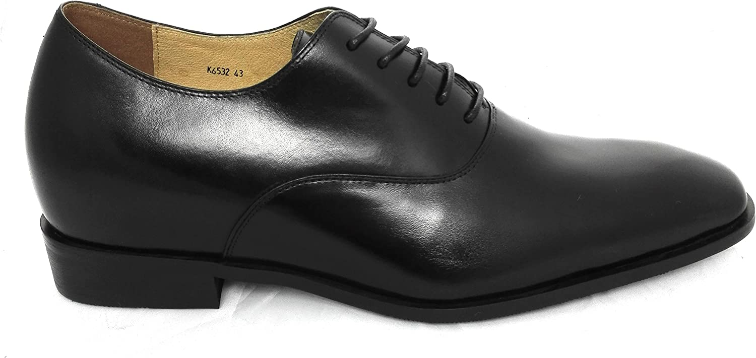 Chaussures Cuir Veritable Chaussures Homme Ville Cuir 7 cm Chaussures Grandissantes Chaussures Cuir Homme Zerimar Chaussures Rehaussantes Homme