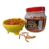 MIX Hot Chilli Biscuit Sticks, 14 Ounce (400g) Jar, Chili Spicy Snack Foods