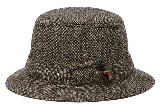 b93f27a5 Hanna Hats Men's Donegal Tweed Original Irish Walking Hat: Amazon.ca:  Clothing & Accessories